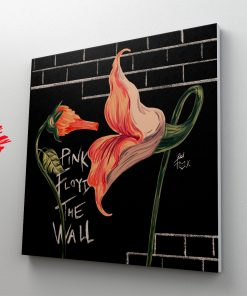 The Wall In flowers